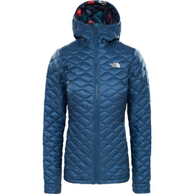 The North Face Thermoball Hoodie Dam blue wing teal/blue wing teal joshua tree print